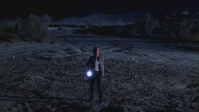 scully in desert